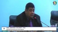 Adriano Colares relata problemas no fornecimento de energia em comunidades da região de Bom Suspiro