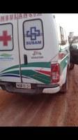Ambulância com porta amarrada por corda é flagrada no Distrito de Matupi e Vereador Burrin reclama da falta de Medicamentos
