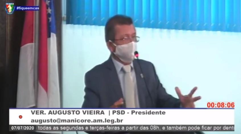Augusto Vieira anuncia União de bancadas no fortalecimento administrativo de Manicoré