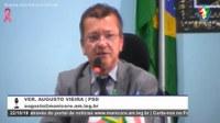 Augusto Vieira destaca convocação dos professores Estaduais e faz uma reflexão dos Poderes