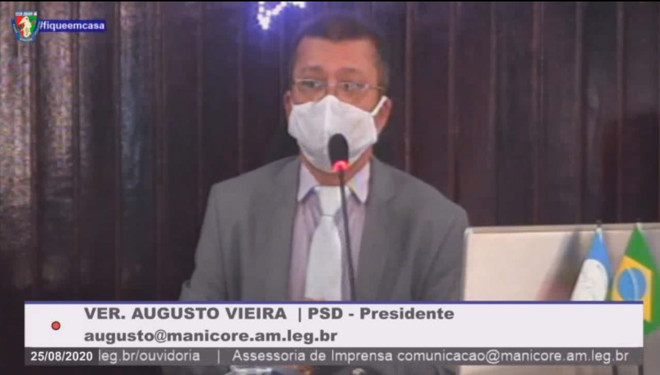 Augusto Vieira diz 'PL de Cargos e Salário dos Guardas Municipais ainda não chegou à Câmara'