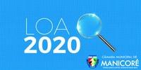 Câmara de Manicoré aprova LOA que estima R$ 81,6 milhões no Orçamento Municipal para 2020