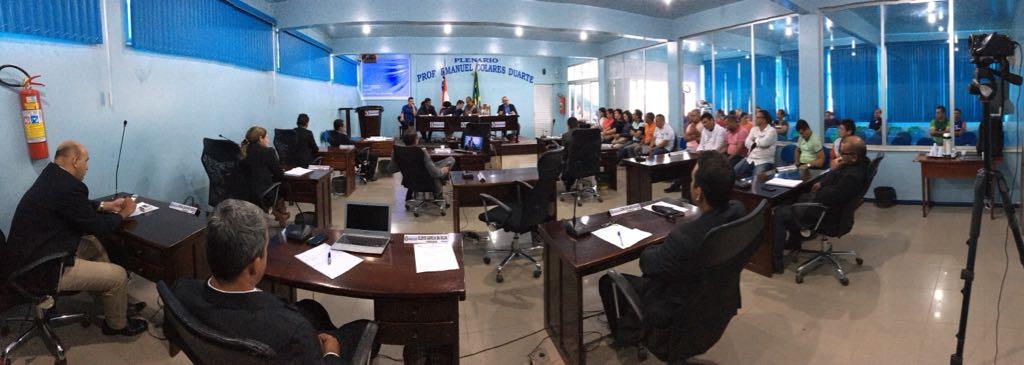 Câmara de Manicoré debate situação da enchente do rio Madeira
