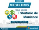 Câmara realiza audiência pública para discutir novo Código Tributário de Manicoré