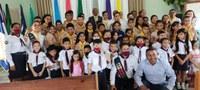 Charles Meireles homenageia Clube dos Desbravadores da igreja Adventista do Sétimo Dia