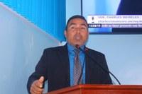 Charles Meireles solicita a AM Energia instalação elétrica para residências no ramal dos Gaúchos