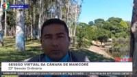 Charles Meireles solicita conscientização durante Fiscalizações no Trânsito de Manicoré
