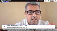 Clovis Garcia pede retirada de entulhos em ruas de Manicoré e solicita vacina para Distrito de Matupi