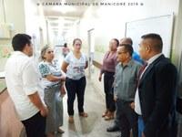 Comissão de Saúde da Câmara faz vistoria no Hospital Regional de Manicoré