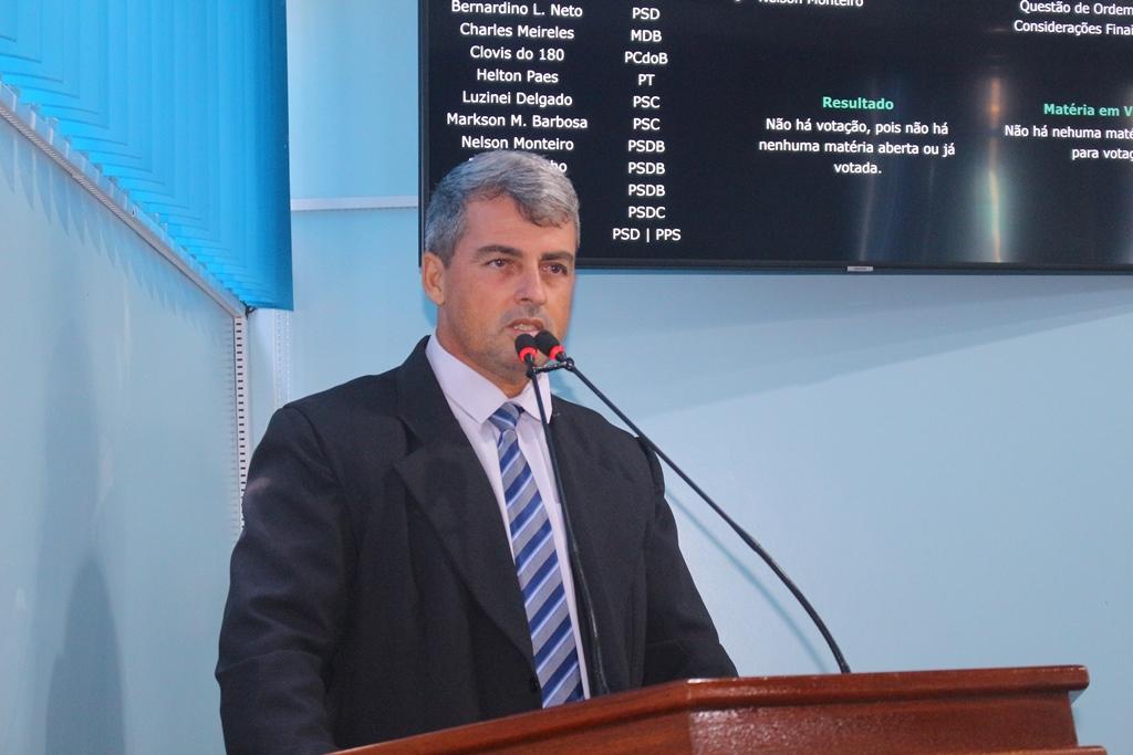 Clovis Garcia solicita ao executivo agilidade na doação de prédio para Polícia Militar