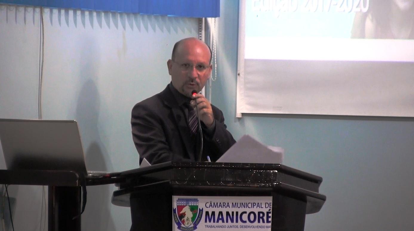 Yuri Reis apresenta Projeto de Lei que institui dia Municipal da Voz em Manicoré