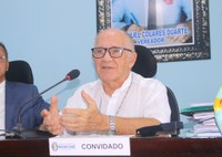 Em visita a Câmara de Manicoré, bispo diocesano fala da importância do Sínodo da Amazônia