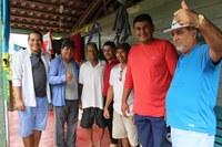 Em visita a zona rural, vereadores de Manicoré fiscalizam Escolas, Postos de Saúde e Luz para Todos