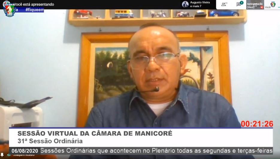 Joaquim Ribeiro destaca trabalho dos profissionais da Saúde de Manicoré