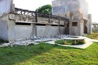Laje da UBS do bairro de Santo Antonio desaba e obra pode ser demolida