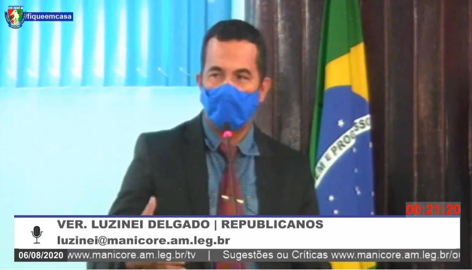 Luzinei Delgado destaca Atividades Extrativista Mineral Familiar em Manicoré