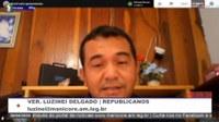 Luzinei Delgado destaca recuperação do Ramal de Democracia e fala sobre a Pandemia da Covid-19