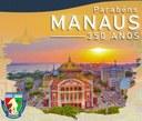 Câmara de Manicoré parabeniza população pelo aniversário de 350 anos de Manaus