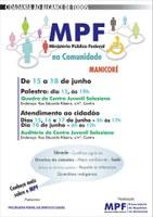 Manicoré recebe projeto MPF na Comunidade de 15 a 18 de Junho