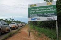 Manifestação Popular de Manicoré vai encontrar expedição parlamentar que fiscaliza obras da BR 319 na terça-feira