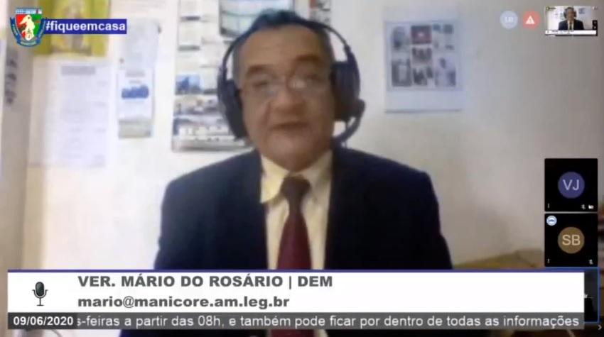 Mário do Rosário solicita recuperação de ruas do bairro Laura Vicuña e Manicorezinho