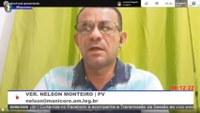 Nelson Monteiro destaca recuperação do ramal de Democracia
