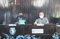 Novo Bispo Diocesano Dom Antonio visita a Câmara Municipal Manicoré