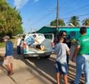 Paciente é transportada em carroceria de caminhonete, diz vereador Michelzão