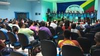Presidente Neto e vereadores prestigiam novo elenco do CDC Manicoré