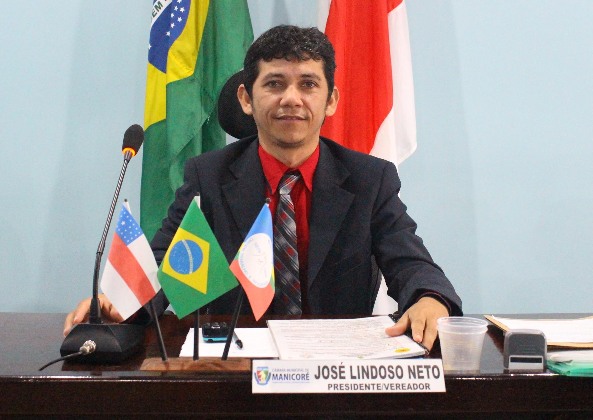 Presidente da Câmara comunica exercício financeiro do ano de 2016 do Municipio de Manicoré