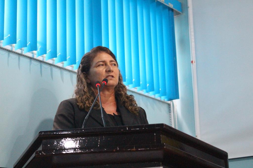 Socorro Torres solicita reparo no sistema de iluminação pública de Manicoré