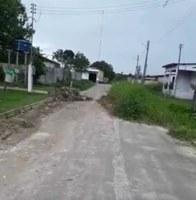Socorro Torres solicita retirada de entulho no final da Travessa Manaus no Bairro de Santo Antônio