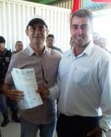 Vereador Clovis solicita nova ambulância e terraplanagem nas vicinais do Distrito de Matupi junto a David Almeida