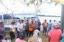 Vereadores participam da entrega de ajuda humanitária as famílias atingidas pela cheia do rio Madeira em Manicoré