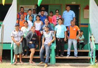 Vereadores participam da Primeira Feira Cultural Ambiental e amostras de artesanatos produzidos na comunidade de São José no Lago do Capanã Grande
