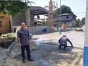Yuri Reis destaca revitalização da Praça da Igreja do Bairro de Aparecida