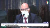 Yuri Reis justifica que falta matéria-prima para conclusão da operação 'Tapa Buracos'